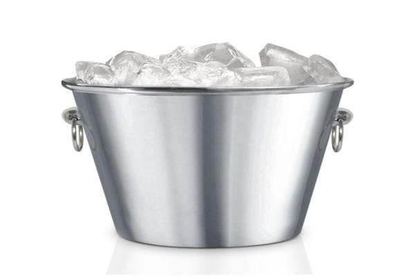 Gelo no balde