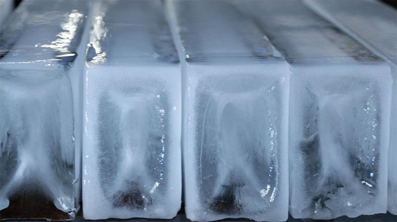Barras de gelo