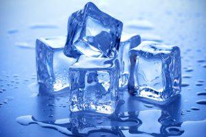 Utilizar o gelo corretamente